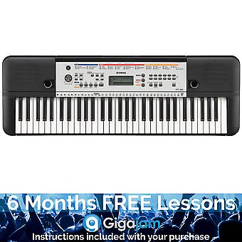 Yamaha YPT260 Portable Keyboard – with 6 Months Free Online Music Lessons