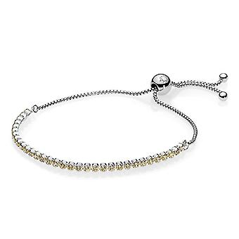 PANDORA Golden Sparkling Strand Bracelet - Golden-Colored CZ - 590524CCZ-2