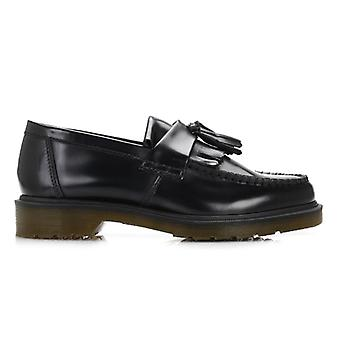 Dr. Martens Black Adrian Leather Loafers