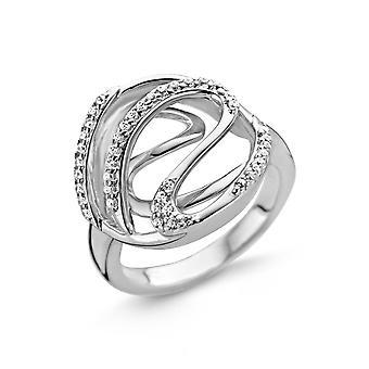 Orphelia Silver 925 Ring Triangle  Zirconium  109  ZR-3821