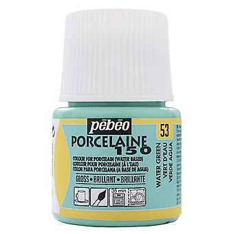 Pebeo Porcelaine 150 Paint 45ml (Pastel Water Green)