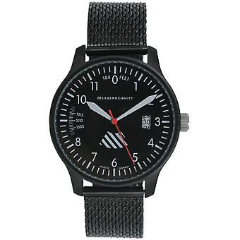 Aristo Messerschmitt mens pilot watch ME-42ALTI-M Milanaiseband