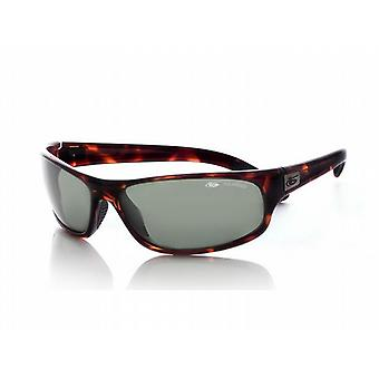 Bolle Anaconda Sunglasses (Polarized Axis Lens Dark Tortoiseshell Frame)