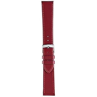 Morellato Strap Only - Sprint Napa Leather Red Berry 16mm A01X2619875081CR16 Watch