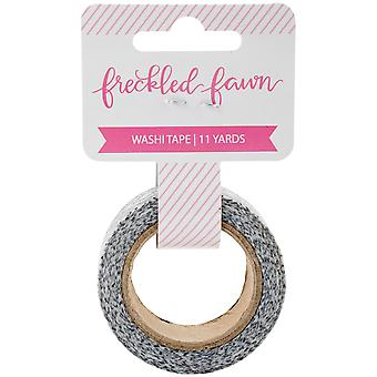 Freckled Fawn Repositionable Washi Tape 15mmX10m-Diamond