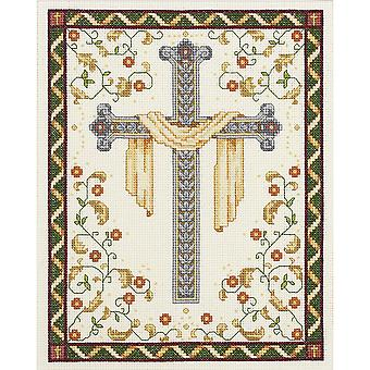 His Cross Counted Cross Stitch Kit-8