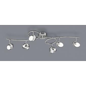 Trio Lighting Shark Modern Nickel Matt Metal Spot