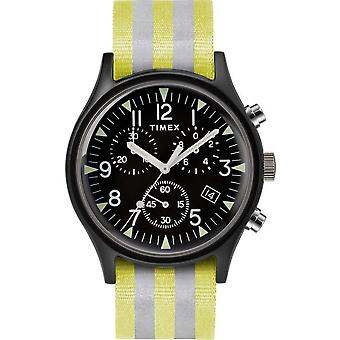 Timex mens watch MK1 aluminum chronograph 40 mm TW2R81400