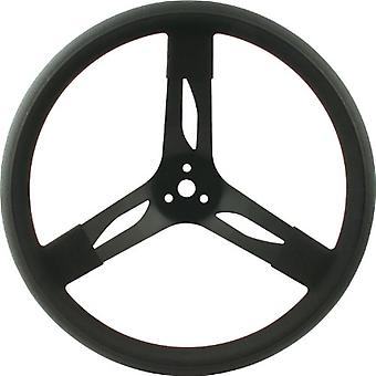 QuickCar Racing Products 68-003 Mount Racing Steering Wheel with Black Rubber Grip
