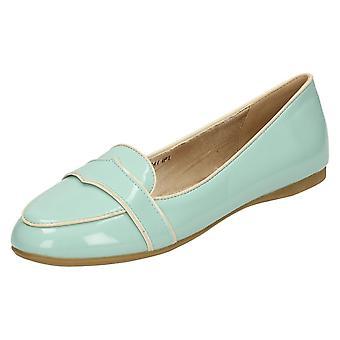 Spot de dames sur brevets chaussures occasionnelles plat F80141