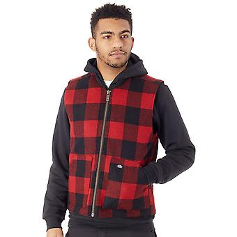 Dickies Red Martinsburg Body Warmer