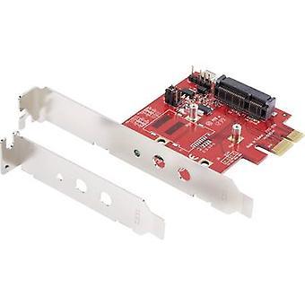 GBIC [1 x Mini PCI Express - 1 x PCI Express] Renkforce