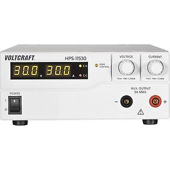 VOLTCRAFT HPS-11530 Bench PSU (adjustable voltage) 1 - 15 Vdc 0 - 30 A 450 W Remote No. of outputs 1 x