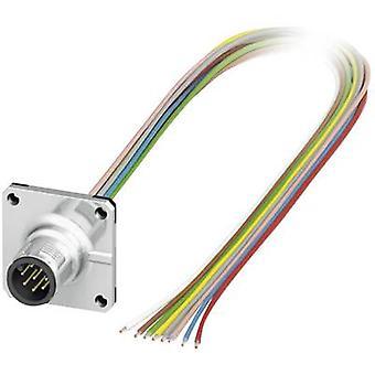 Phoenix Contact 1441561 SACC-SQ-M12MS-8CON-25F/0,5 M12 Sensor / Actuator Build-in Plug Connector