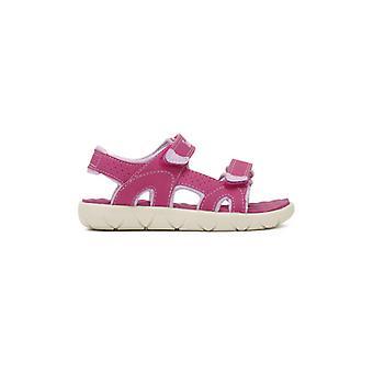 Timberland småbørn Pink Perkins række 2-rem sandaler