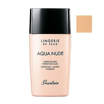 Guerlain Lingerie De Peau Aqua Nude Water-Infused Perfecting Fluid SPF 20 03N Natural 1.0oz / 30ml