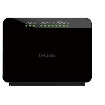 D-Link Wireless routeur-Modem ADSL GO-AC750 ADSL2/2 +, technologie 750AC, Dual Band, 4 ports Fast Ethernet