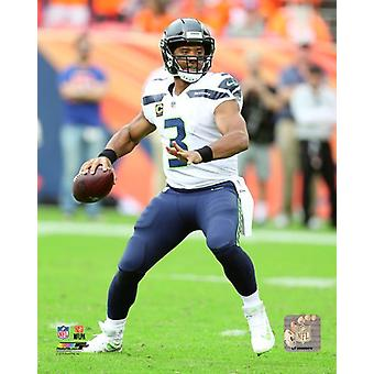 Russell Wilson 2018 Action Photo Print