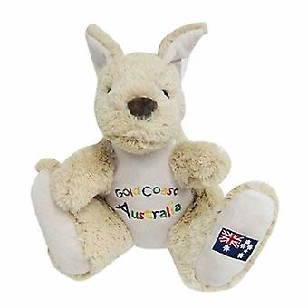 20cm Kangaroo Plush w/ Embroidery