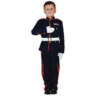 Zeremonielle Bnov Soldat Kostüm