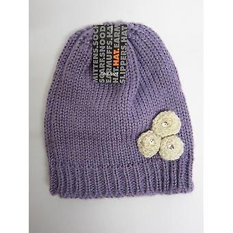 RJM Girls Knitted Beanie Hat GL096
