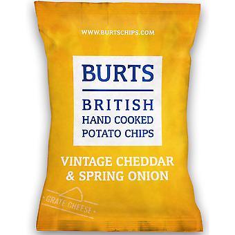 Burts Cheddar Cheese & Onion Crisps Gluten Free