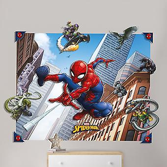 Spider-Man Spider-Man 3D Pop-out-Wanddekoration Wandtattoo Dekoration