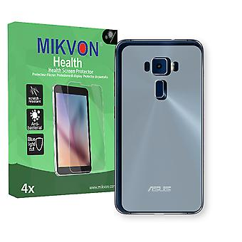 Asus ZenFone 3 ZE520KL reverse Screen Protector - Mikvon Health (Retail Package with accessories) (reduced foil)