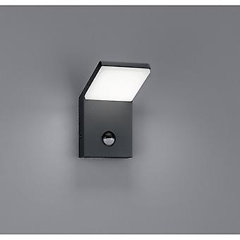 Trio Lighting Pearl Modern Anthracite Diecast Aluminium Wall Lamp
