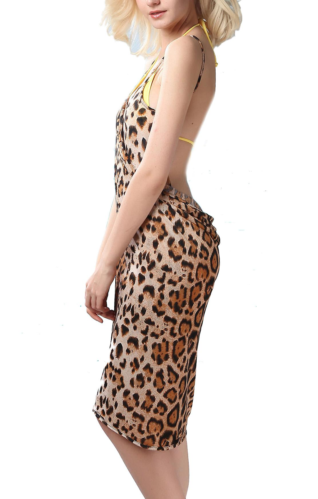 Waooh - Fashion - Leopardenmuster Sarong