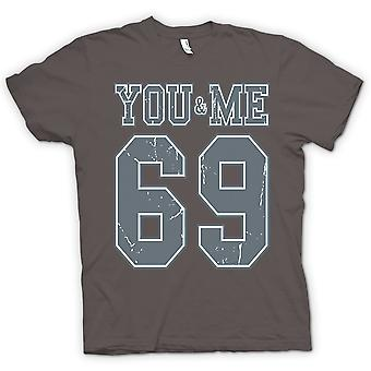 Womens T-shirt - You And Me 69 - College Football - Funny