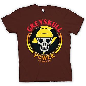 Mens t-shirt - Greyskull potenza azienda He-Man ho il potere