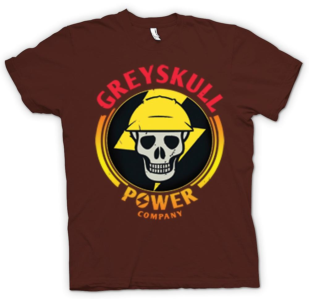 Mens T-shirt - Greyskull Power Company He-Man I have the Power