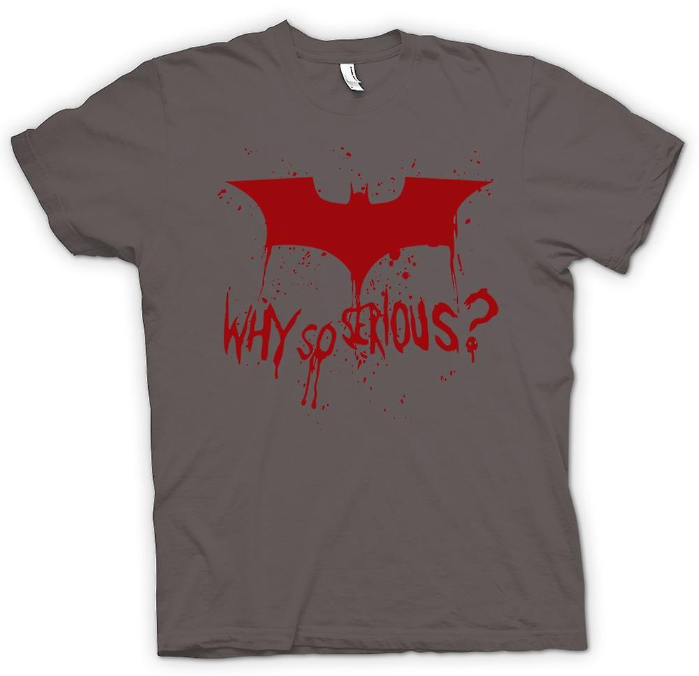 T-shirt - Logo di Batman - Why So Serious