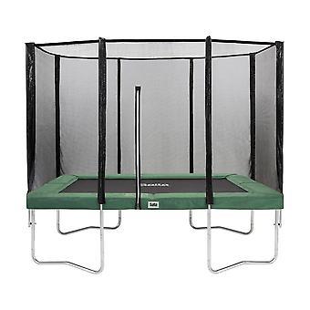 Salta Combo trampoline met veiligheidsnet 153x213 cm - groen