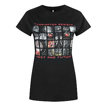 Terminator Genisys Past And Future Women's T-Shirt Black