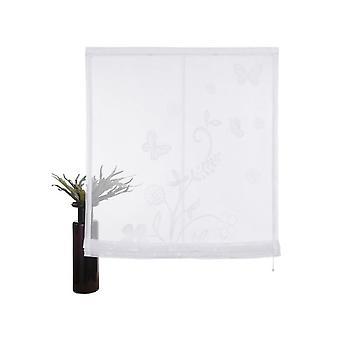 «Minha casa máscara romana» Saltillo «branco transparente com grande allover-motivo