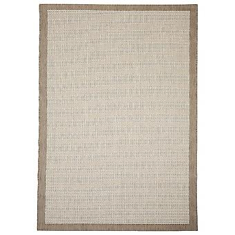 Outdoor carpet for Terrace / balcony beige natural Essentials chrome 160 / 230 cm carpet indoor / outdoor - for indoors and outdoors