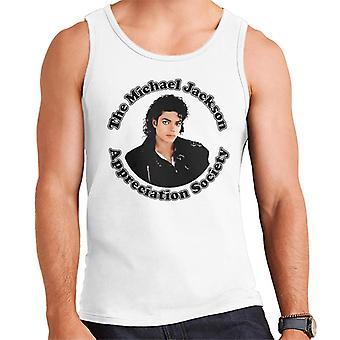 Michael Jackson Appreciation Society Men's Vest