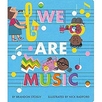 Wij zijn muziek [Board boek]