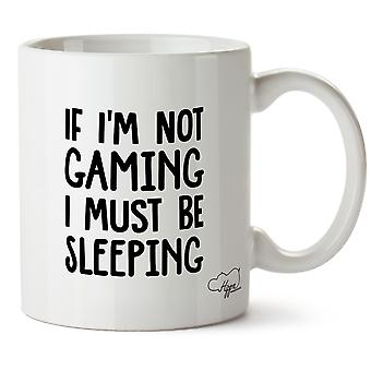 Hippowarehouse если я не игр я должен спать печатных кружка Кубок керамические 10oz
