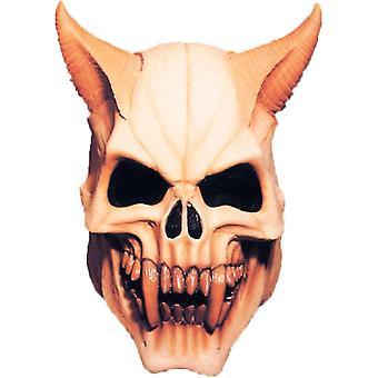 Teufel-Schädel-Maske für Halloween - 18057