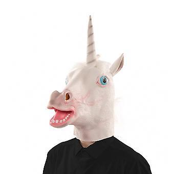 Unicorn maske maske Unicorn Unicorn maske gummi maske voksen