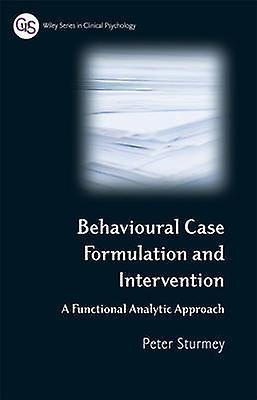 Behavioral Case Formulation by Sturmey