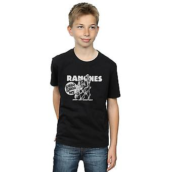 Ramones Boys Gabba Gabba Hey Cartoon T-Shirt