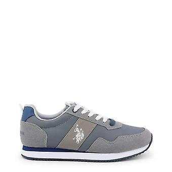 US Polo Männer graue Sneakers--NOBI056176