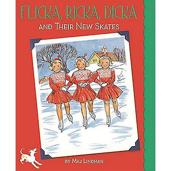 Flicka - Ricka - Dicka and Their New Skates by Maj Lindman - Maj Lind