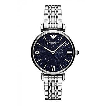 Emporio Armani Ar11091 Stainless Steel Blue Dial Ladies Watch