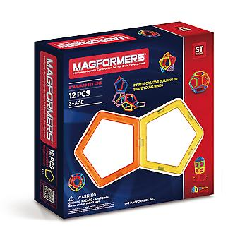 Magformers Pentagons 12 PCS Rainbow Magnetic Toy