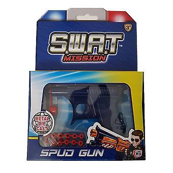 S.w.a.t Mission Spud Gun Blau